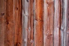 Textura de madeira de Brown Fundo de madeira Imagens de Stock Royalty Free