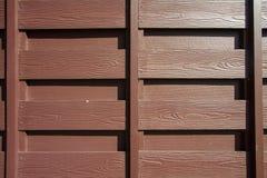 Textura de madeira cinzenta natural da parede Foto de Stock