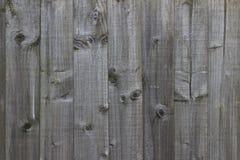 Textura de madeira clara da cerca Imagens de Stock Royalty Free