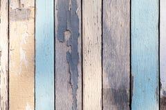 Textura de madeira com cor Pastel rachada fotografia de stock royalty free