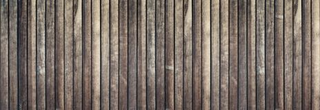 Textura de madeira com pranchas verticais, estilo retro: parede, assoalho, o Imagens de Stock