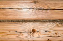 Textura de madeira com teste padrão natural do pinho Imagens de Stock