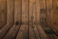 Textura de madeira com testes padrões naturais Fotos de Stock Royalty Free
