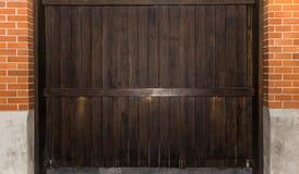 Textura de madeira com testes padrões naturais Fotografia de Stock