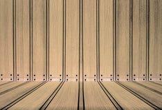 Textura de madeira com testes padrões naturais Fotos de Stock