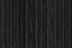 Textura de madeira com testes padrões naturais, textura de madeira preta Imagem de Stock Royalty Free