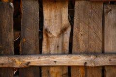 Textura de madeira da cerca Fotos de Stock Royalty Free