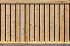 Textura de madeira da cerca Imagens de Stock
