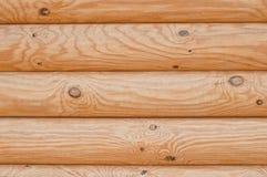 Textura de madeira da máscara clara dos logs Foto de Stock Royalty Free