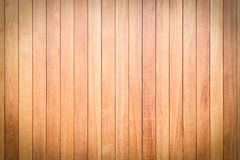 Textura de madeira da parede da prancha de Brown foto de stock