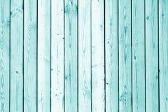 Textura de madeira da parede no tom ciano fotografia de stock royalty free