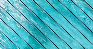 A textura de madeira da pintura velha com testes padrões naturais Fotos de Stock