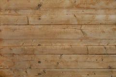 Textura de madeira da placa, cor do Sienna Fotografia de Stock