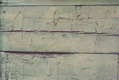 Textura de madeira da placa, cor luz-verde Fotos de Stock Royalty Free