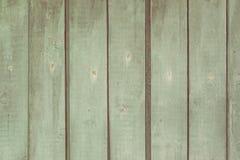 Textura de madeira da placa, cor luz-verde Fotografia de Stock