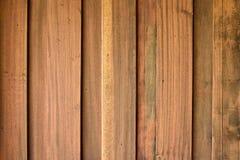Textura de madeira da prancha da teca Fotos de Stock Royalty Free
