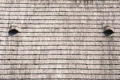Textura de madeira da telha do telhado Imagem de Stock Royalty Free