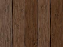 Textura de madeira das pranchas Vetor Foto de Stock