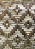 Textura de madeira de bambu Fotos de Stock Royalty Free