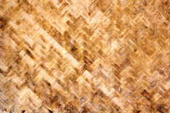 Textura de madeira de bambu Fotografia de Stock