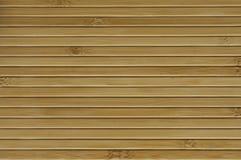 Textura de madeira de bambu Imagens de Stock