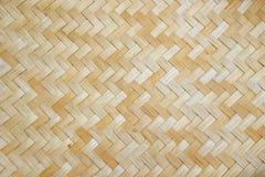 Textura de madeira de bambu Imagem de Stock Royalty Free