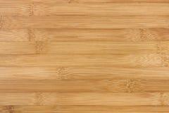 Textura de madeira de bambu do fundo Imagem de Stock Royalty Free