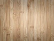 Textura de madeira de bambu do fundo Foto de Stock