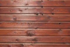 Textura de madeira de Brown com testes padrões naturais Fotos de Stock Royalty Free