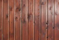Textura de madeira de Brown com testes padrões naturais Imagem de Stock Royalty Free