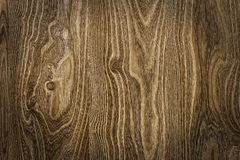 Textura de madeira de Brown com testes padrões naturais Imagem de Stock