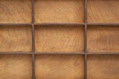 Textura de madeira de Grunge com grade Imagem de Stock