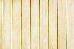 Fundo de madeira da textura do amarelo da prancha do pinho Fotografia de Stock Royalty Free