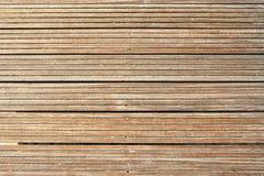 Textura de madeira do assoalho Foto de Stock Royalty Free