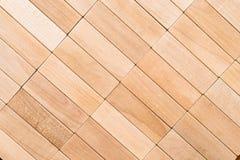 Textura de madeira do bloco Imagens de Stock Royalty Free