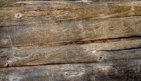 Textura de madeira do fundo do assoalho do vintage Fotos de Stock
