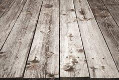 Textura de madeira do fundo da tabela de Brown Fotografia de Stock Royalty Free