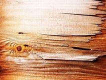 Textura de madeira do grunge Fotografia de Stock