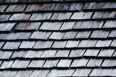 Textura de madeira do telhado Fotos de Stock