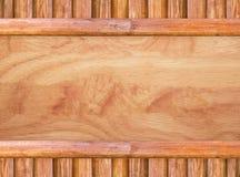 Textura de madeira do vintage, painéis velhos do fundo Fotografia de Stock Royalty Free