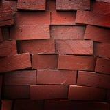 Textura de madeira dos tijolos Fotos de Stock