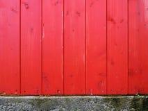 Textura de madeira e muro de cimento Imagens de Stock