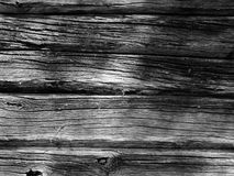 Textura de madeira em preto e branco Imagem de Stock