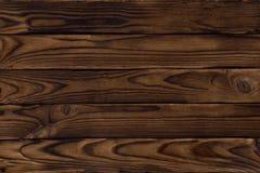 Textura de madeira escura Imagens de Stock