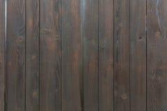 Textura de madeira escura do fundo Imagens de Stock