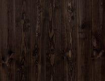 Textura de madeira escura Painéis de madeira escuros do fundo Imagem de Stock Royalty Free