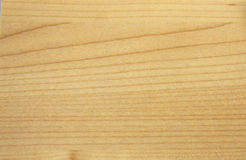 Textura de madeira falsificada bege lisa da cópia Fotografia de Stock