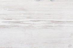 Textura de madeira, fundo de madeira branco Fotografia de Stock