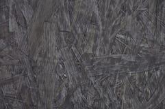 Textura de madeira Fundo do cinza da placa de partícula Foto de Stock