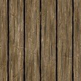 Textura de madeira marrom áspera sem emenda Fotos de Stock